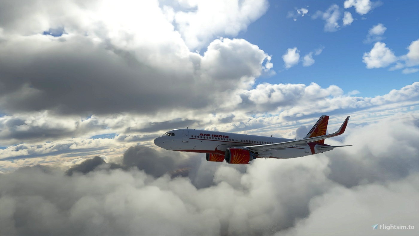 Air India Livery A320neo
