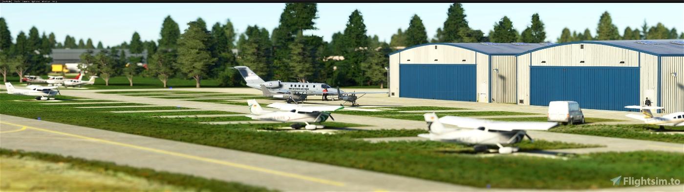 Clow-Bolingbrook Airport (1c5) - Chicago, USA suburbs Flight Simulator 2020