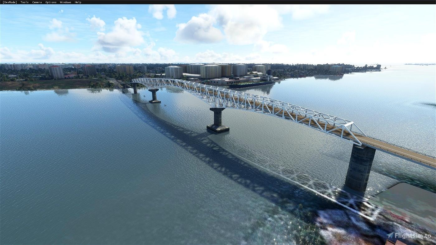 Sergio Osmeña Bridge (Mandue-Mactan Bridge)(Cebu City,Philippines)
