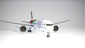 Boeing 787-10 Royal Air Maroc CN-RGZ Microsoft Flight Simulator