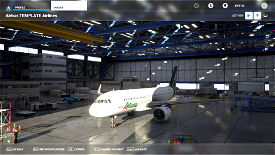 A320neo Alitalia Image Flight Simulator 2020
