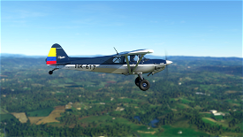 X-Cub Classic Design Navy Blue Colombia Edition Image Flight Simulator 2020