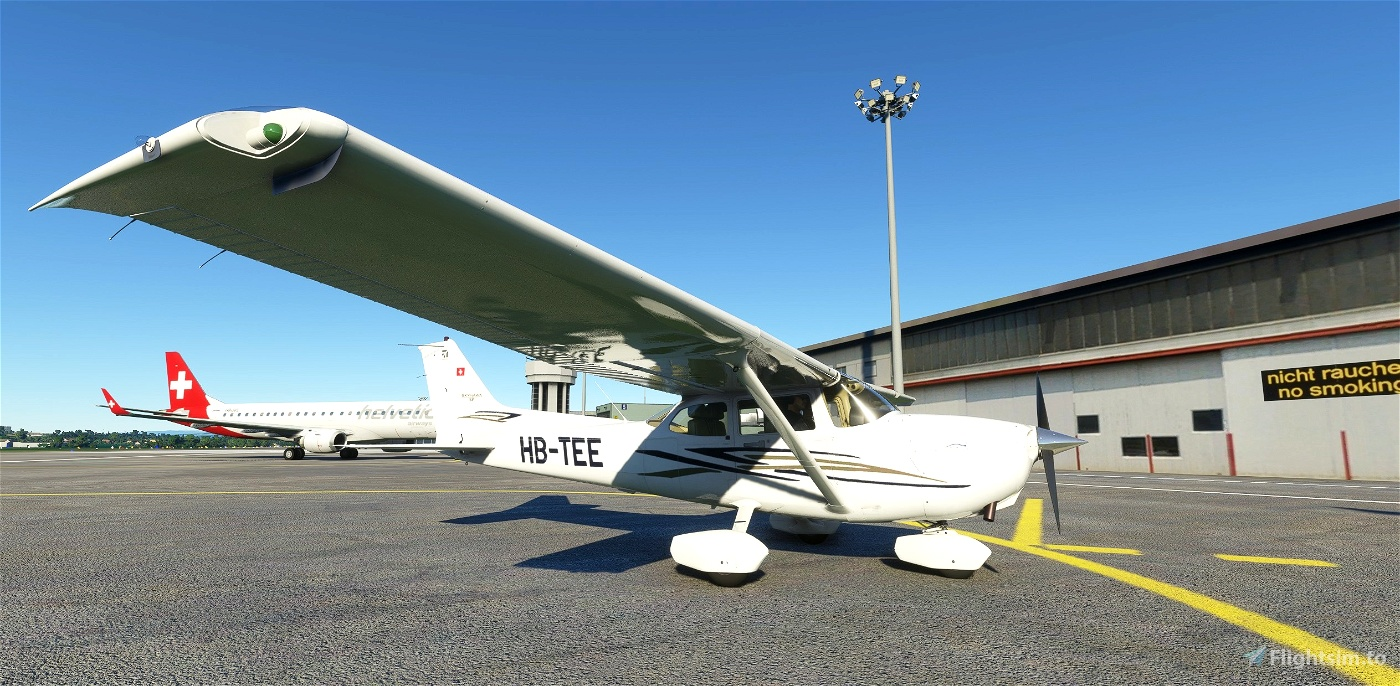 Asobo C172 (G1000) HB-TEE Alp Aviation Flight Simulator 2020