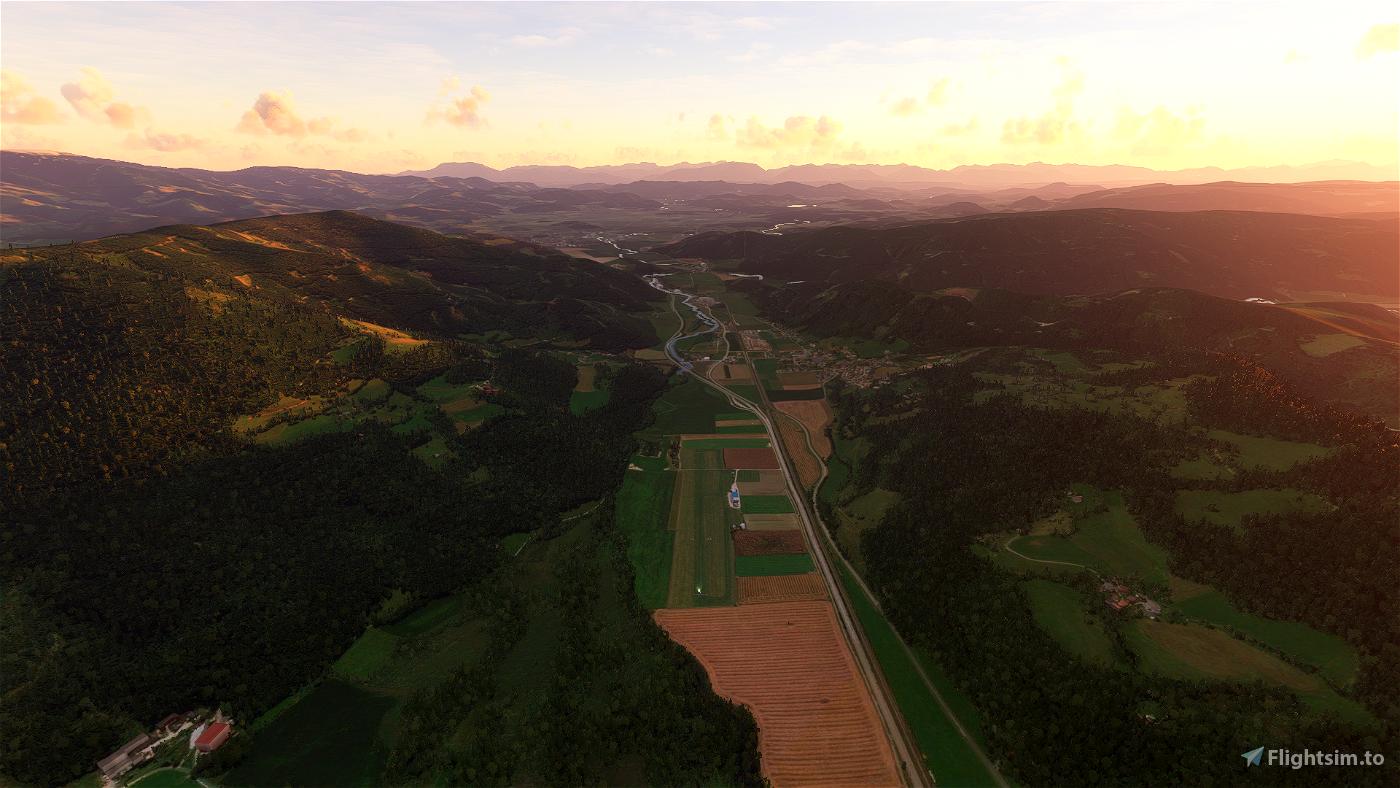 [LOKH] - Hirt Airfield Image Flight Simulator 2020