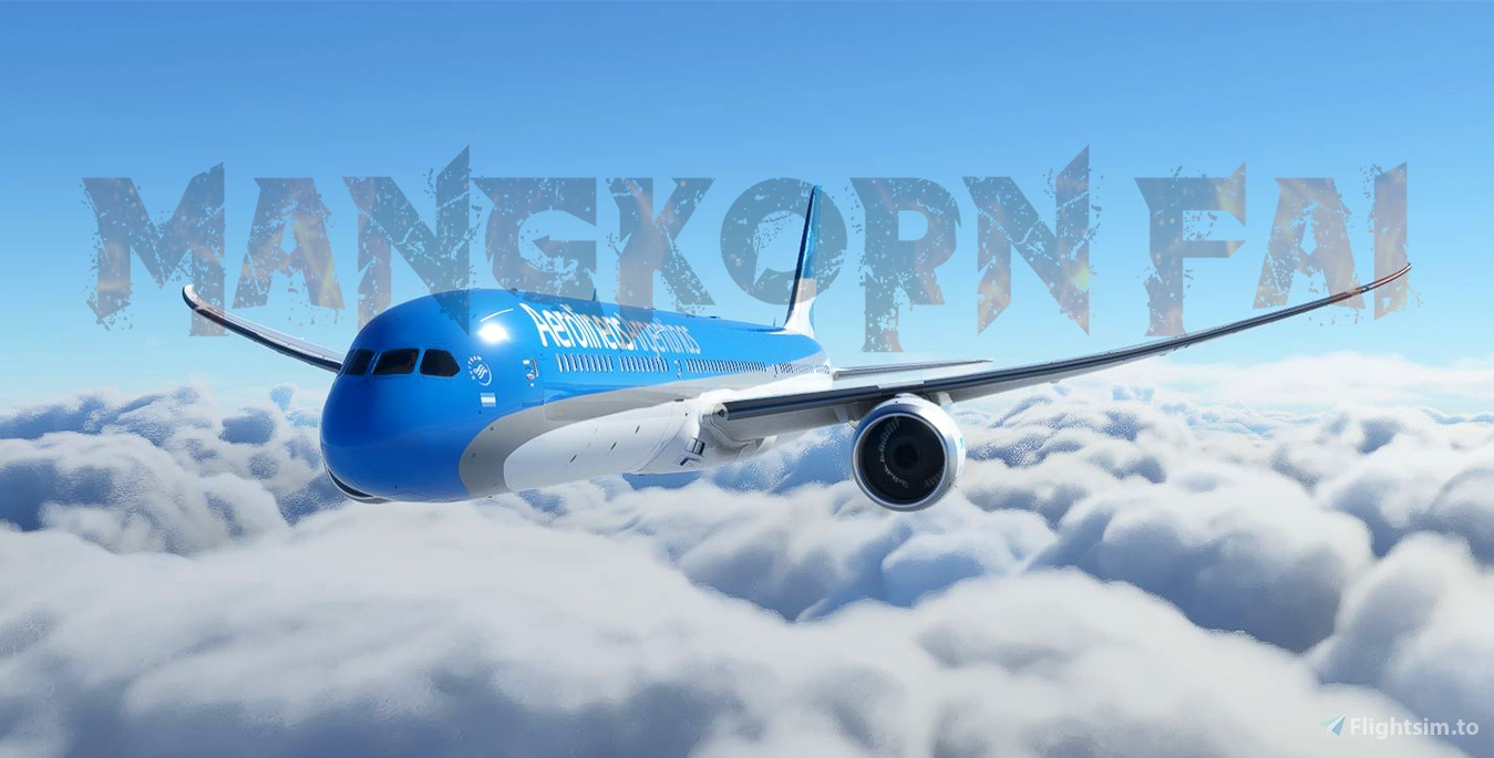 Aerolineas Argentinas 787-10 Flight Simulator 2020