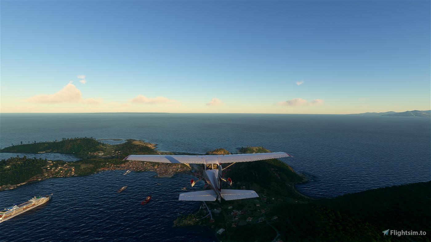 Les Saintes Island, Guadeloupe [TFFS] Image Flight Simulator 2020