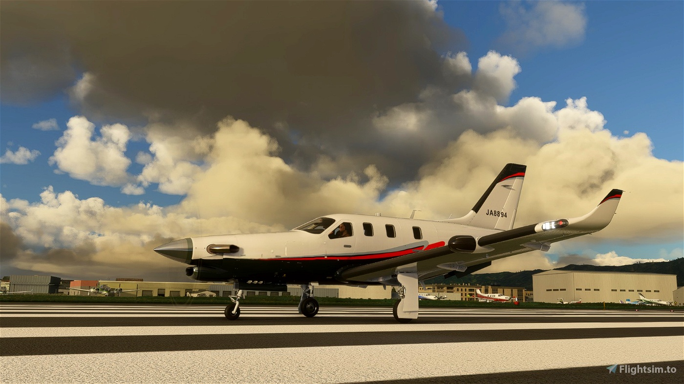 Daher TBM JA8894 Flight Simulator 2020