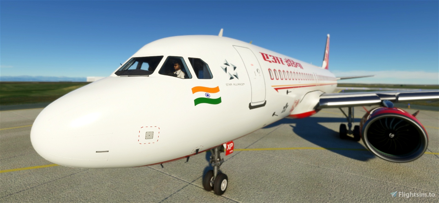 [8K] Asobo Airbus A320neo Air India Livery (VT-EXP)