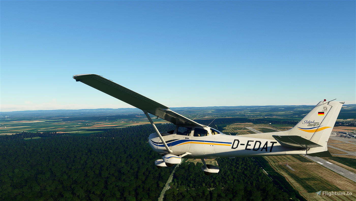 Cessna 172 Classic livery - D-EDAT Flight Simulator 2020