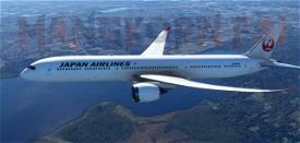 787-10 JAPAN AIRLINES Image Flight Simulator 2020