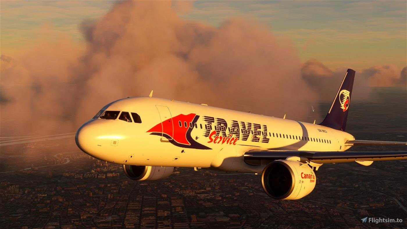 A320 NEO (Czech)Travelservice Classic Flight Simulator 2020