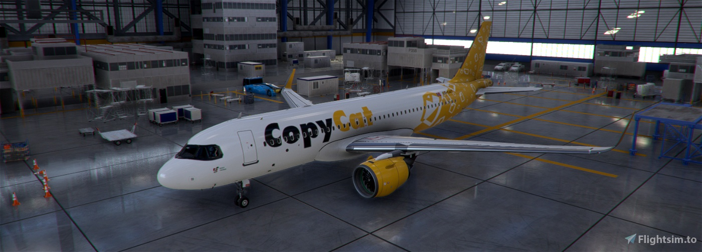 COPYCAT Flight Simulator 2020