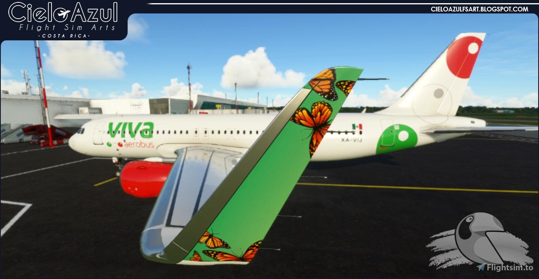 Viva Aerobus   XA-VIJ & XA-VIU   Asobo Airbus A320neo (8K)