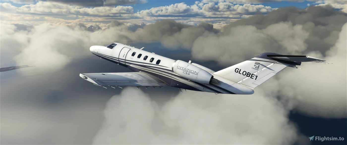 PAINTKIT - Weathered Citation CJ4 Flight Simulator 2020