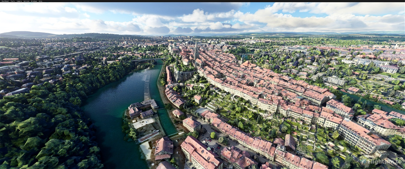 Bern . Switzerland V2 Image Flight Simulator 2020