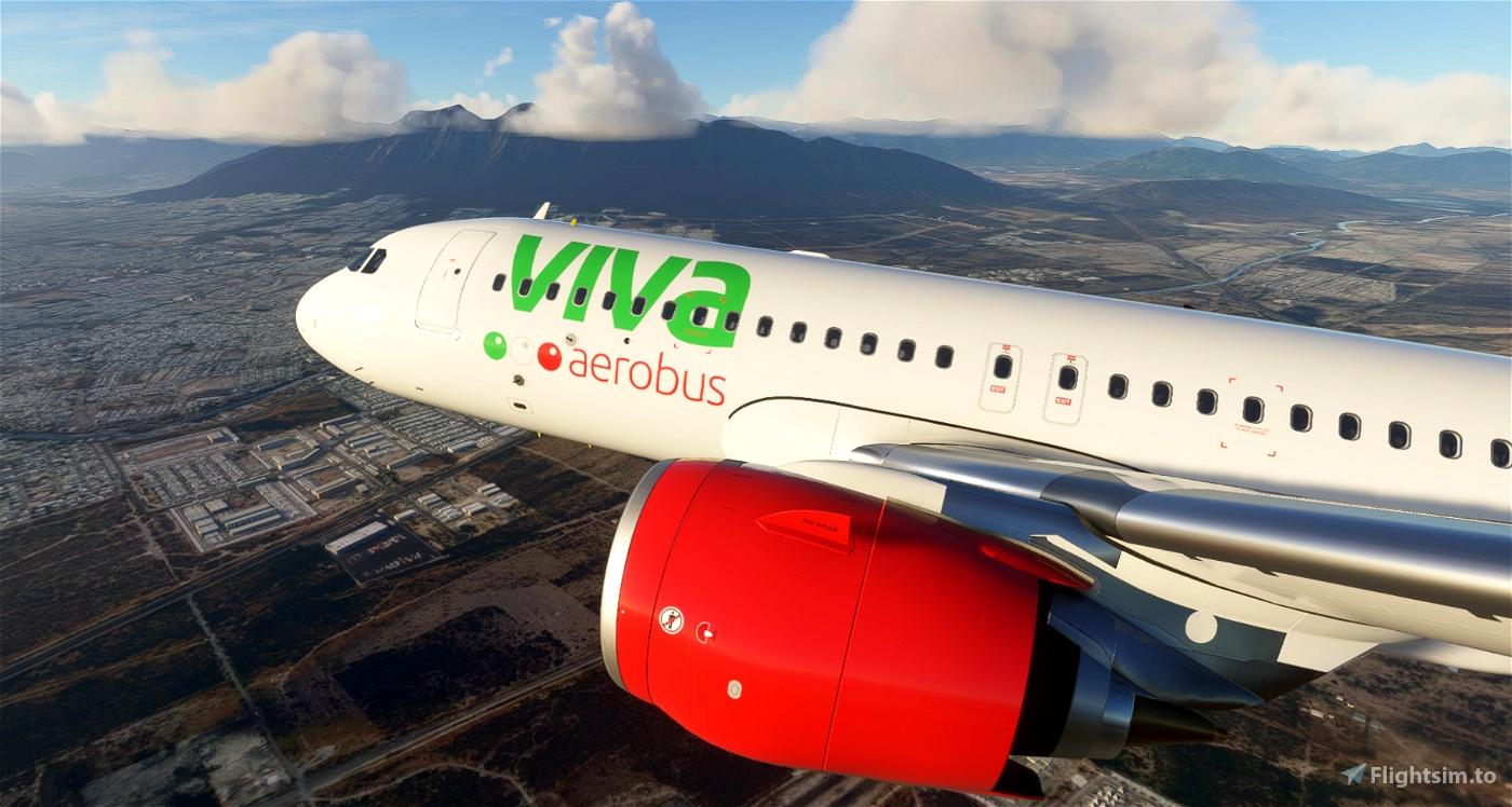 VivaAerobus - 8K Flight Simulator 2020