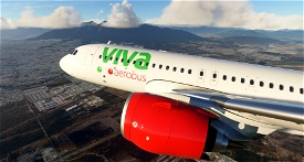 VivaAerobus - 8K Image Flight Simulator 2020