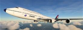 MALEV Boeing 747-8i  Image Flight Simulator 2020