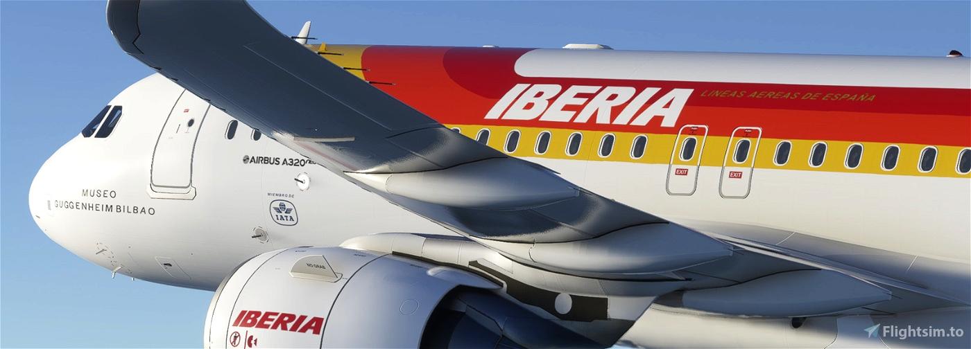 IBERIA EC-HDT Flight Simulator 2020