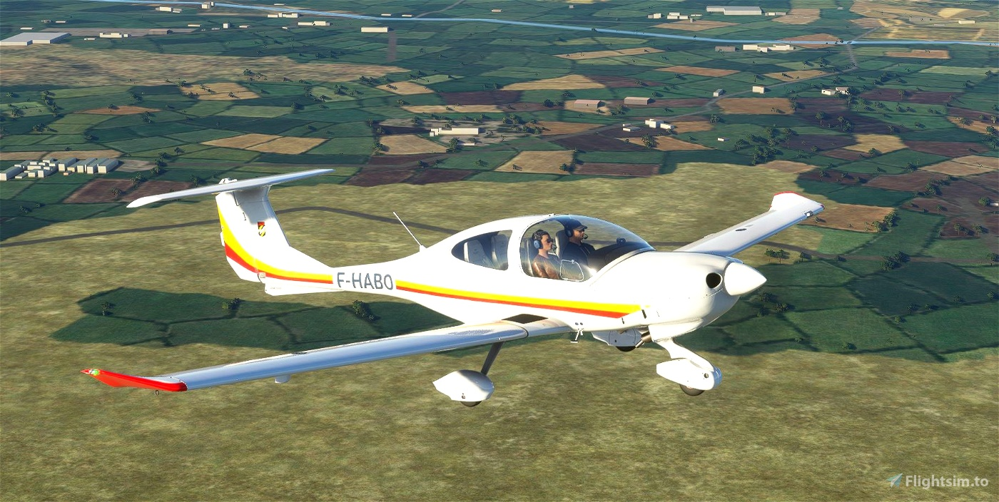 Aero-Club Rossi-Levallois Liveries for DA40 TDI Flight Simulator 2020