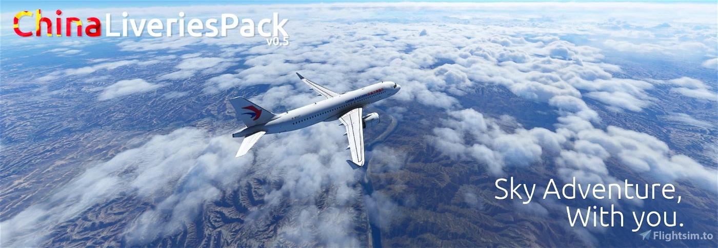 MFS China Livery Pack v0.5 Flight Simulator 2020