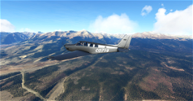 Bonanza G36 Gunmetal Image Flight Simulator 2020