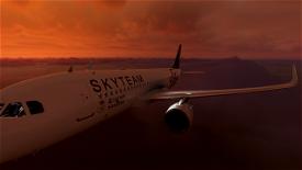 Saudia (Sky Team) A320 Image Flight Simulator 2020