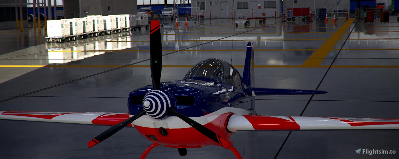 Extra 330 Armée de l'Air Francaise Flight Simulator 2020