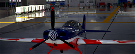 Extra 330 Armée de l'Air Francaise Image Flight Simulator 2020