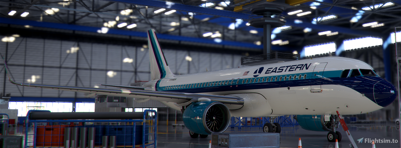 A320neo Eastern Airlines [8k]