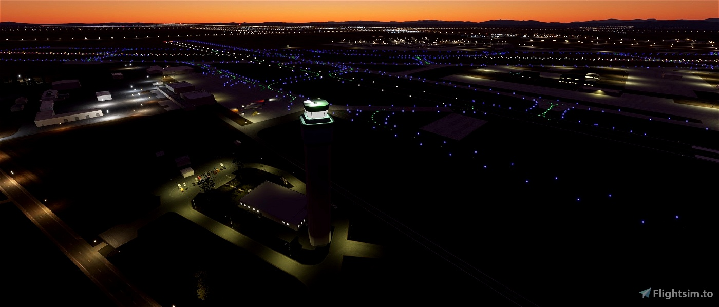 Spokane International Airport, Spokane WA USA - KGEG V1.32