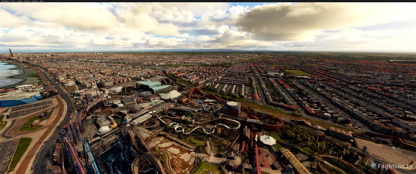 Blackpool version 2 Image Flight Simulator 2020