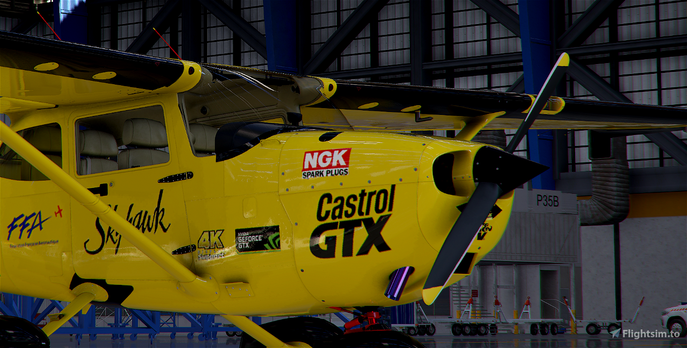 Cessna 172 Racing Team ! Image Flight Simulator 2020