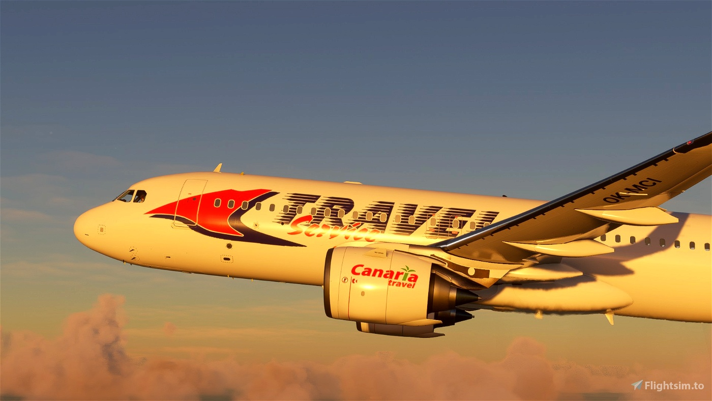 A320 NEO (Czech)Travelservice Classic