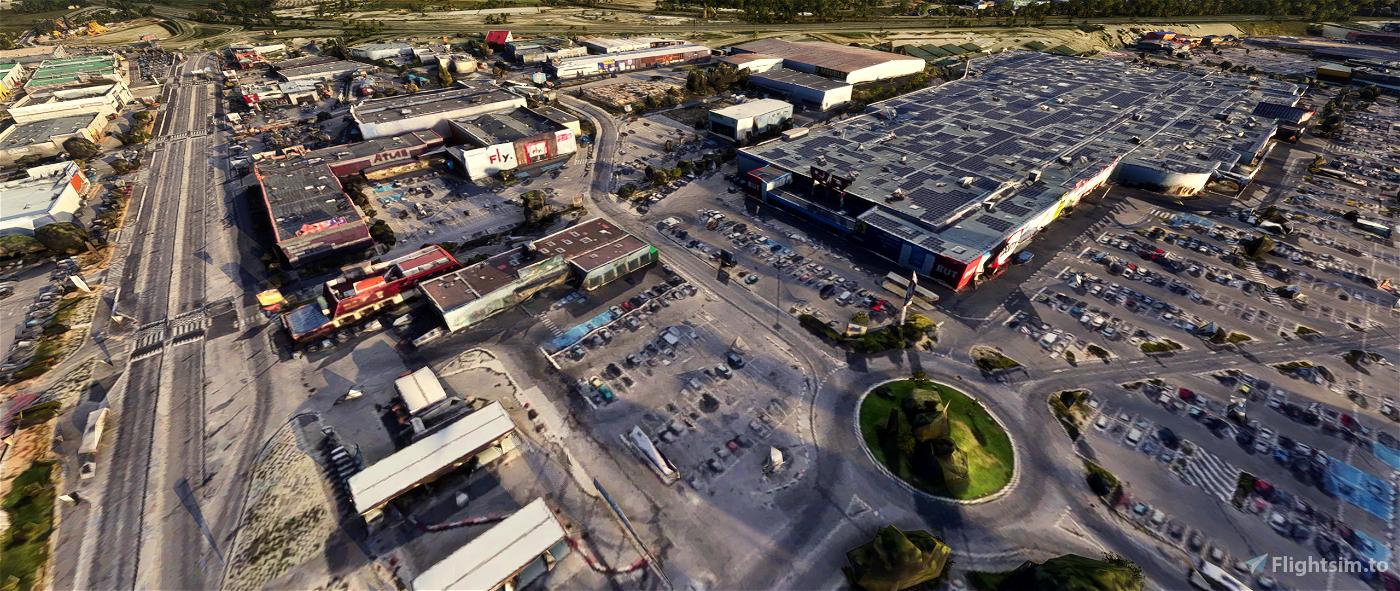 Plan de Campagne - Marseille Image Flight Simulator 2020