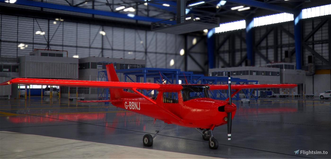 Cessna 152 G-BBNJ Flight Simulator 2020