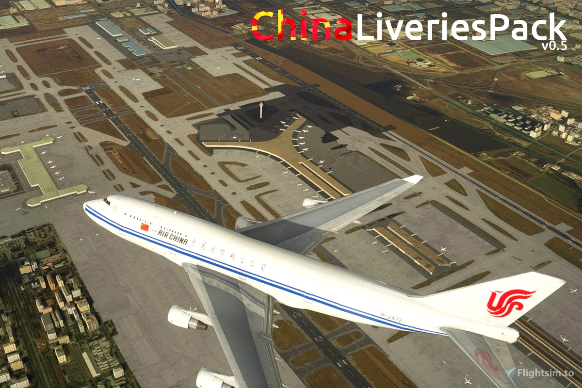 MFS China Livery Pack v0.5