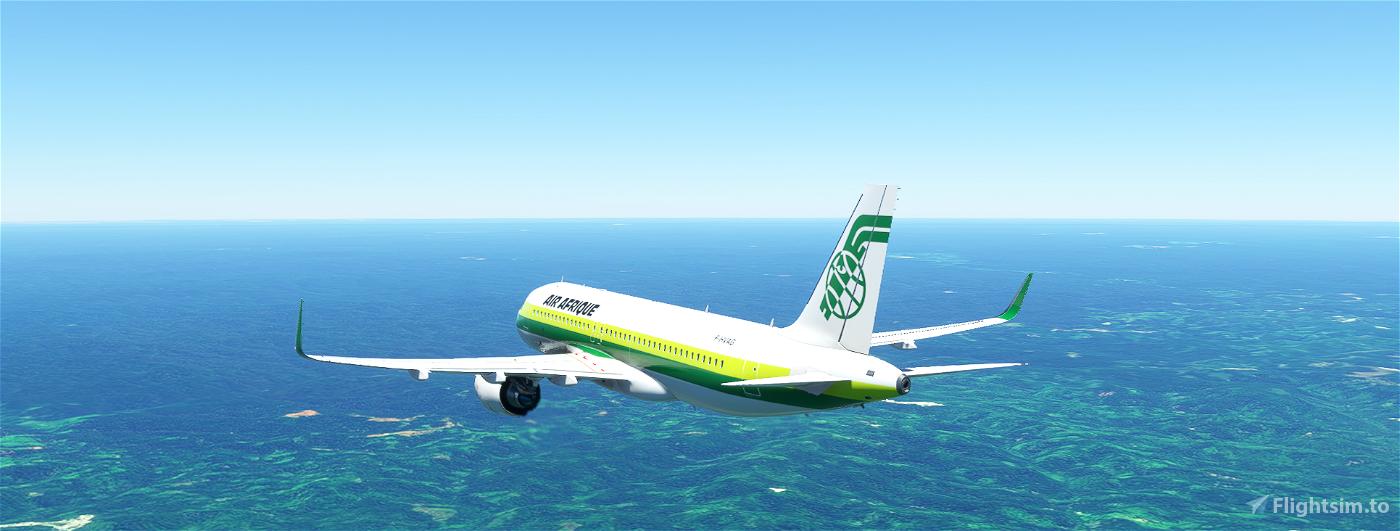 A320neo AIR AFRIQUE