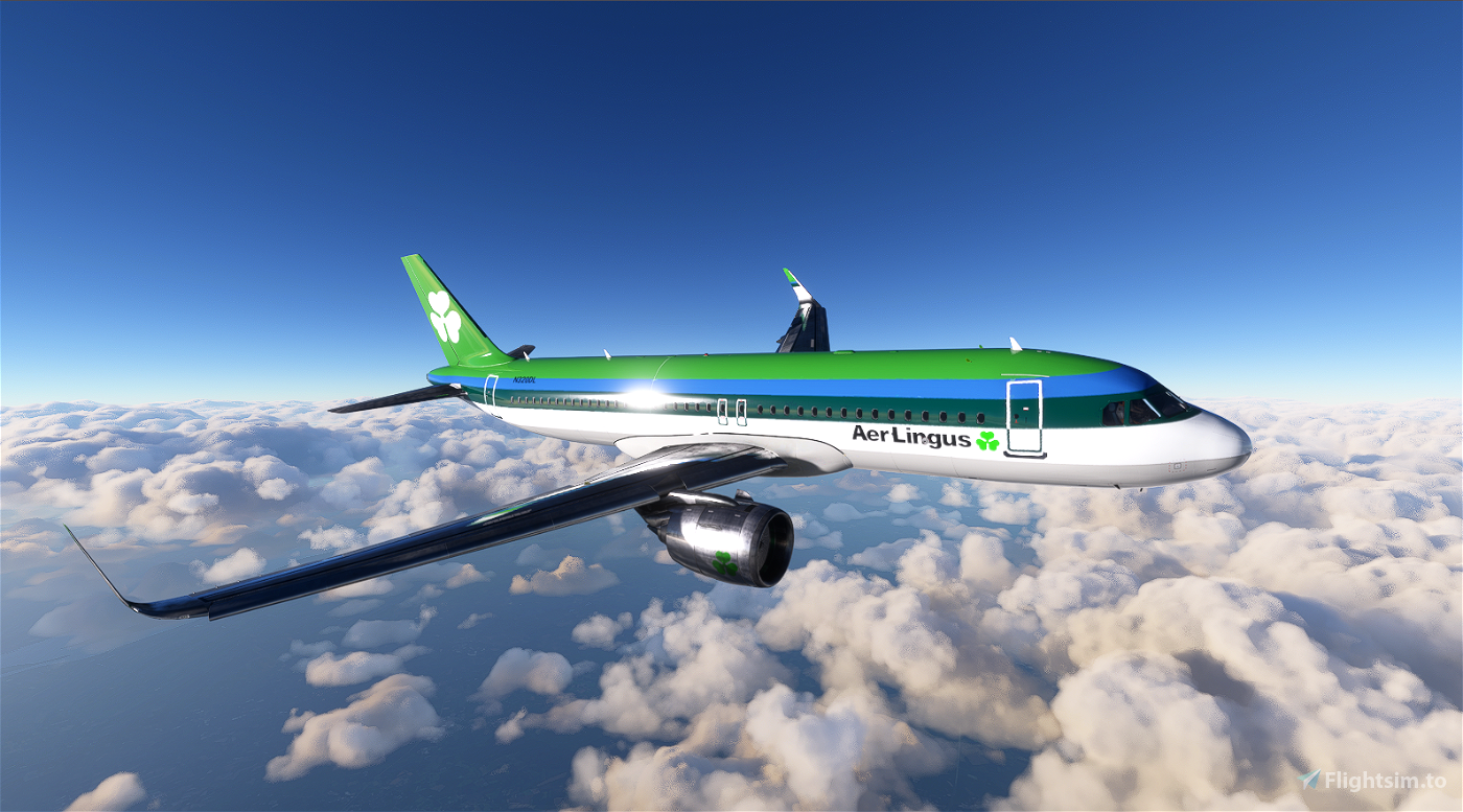 A320 Aer Lingus 1974 Flight Simulator 2020