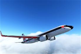 Airbus A320neo British Airways BEA Heritage (G-EUPJ) Image Flight Simulator 2020