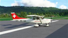 Asobo Cessna 172 SWISS Flying Club HB-CQM (Classic) Image Flight Simulator 2020