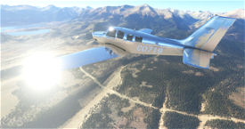 Bonanza G36 Chrome Image Flight Simulator 2020