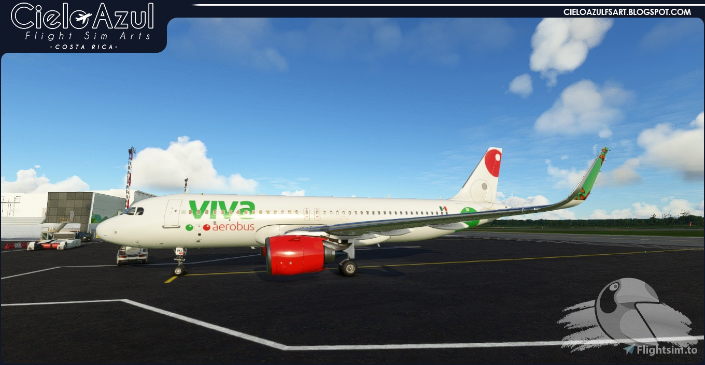 Viva Aerobus   XA-VIJ & XA-VIU   Asobo Airbus A320neo (8K) Flight Simulator 2020