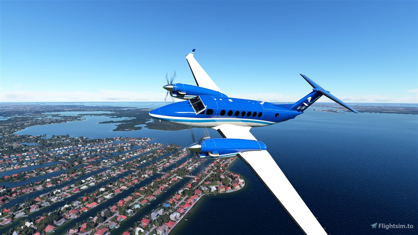 King Air 350i NOAA (N68RF) Flight Simulator 2020