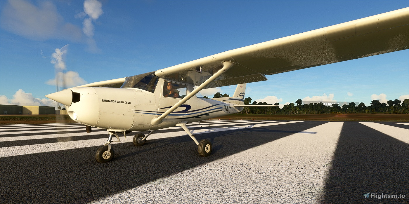 C152 Tauranga Aero Club ZK-TAC Flight Simulator 2020