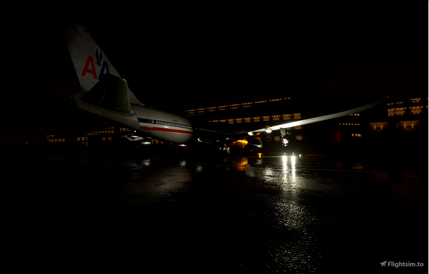 Boeing 747-8 American Airlines Classic