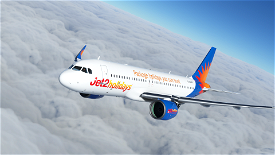 Jet2Holidays A320neo Livery Image Flight Simulator 2020