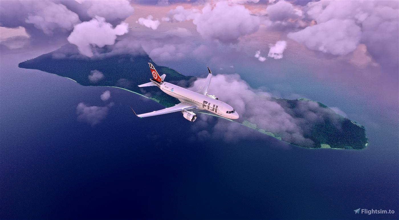 [8K] Fiji Airways