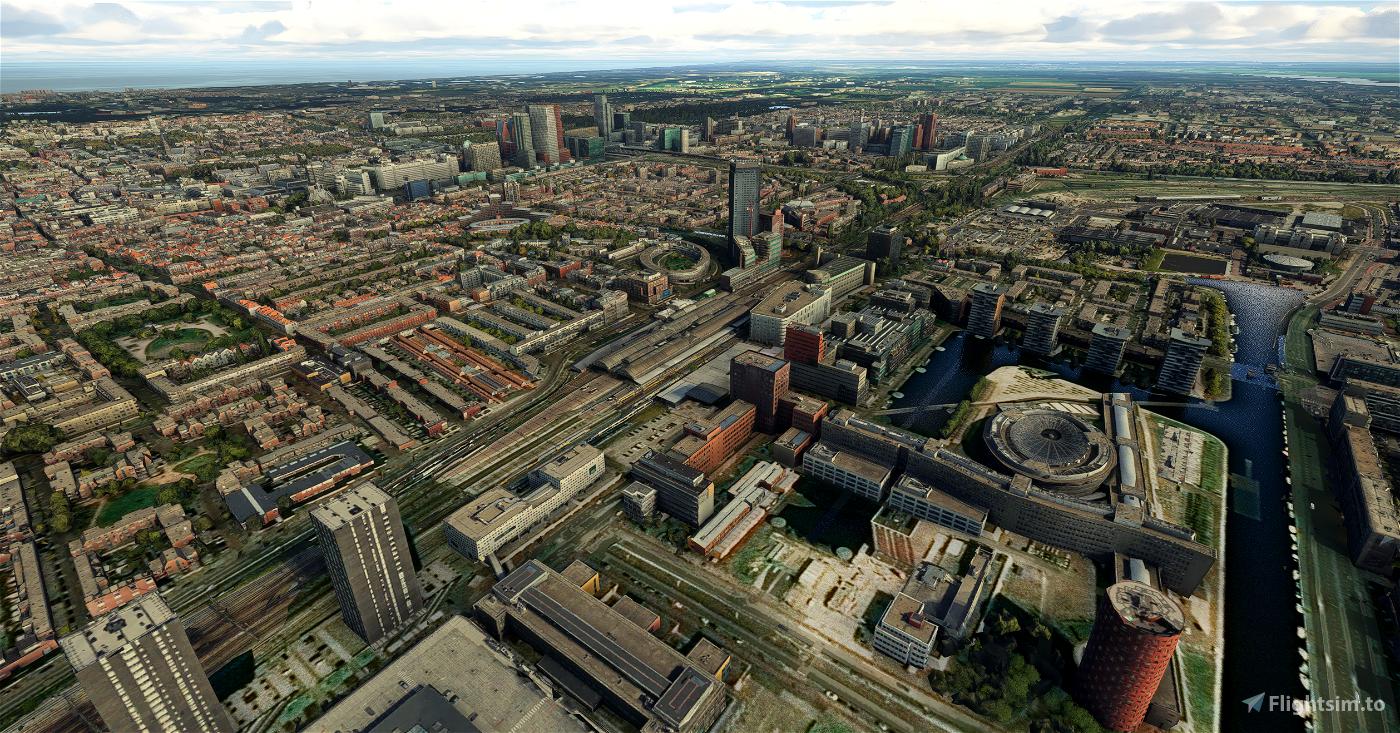 Den Haag / The Hague - City Image Flight Simulator 2020