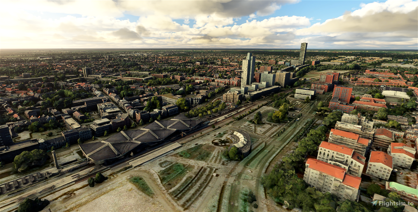 Tilburg - City Image Flight Simulator 2020